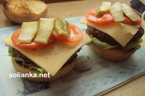 гамбургер в домашних условиях9