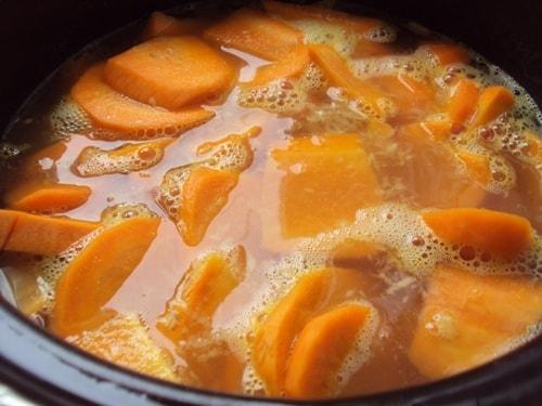холодный имбирный суп