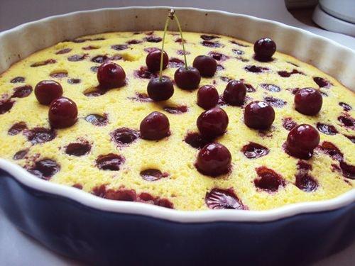 пирог манник на кефире рецепт с фото