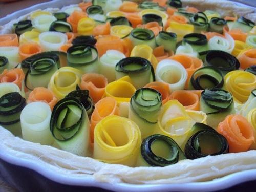 пирог из кабачков в духовке рецепт с фото пошагово