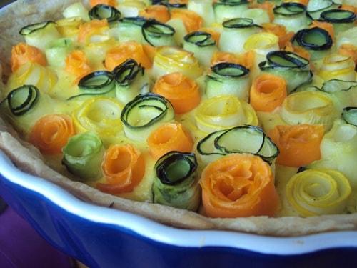 творожный пирог из кабачков в духовке рецепт с фото
