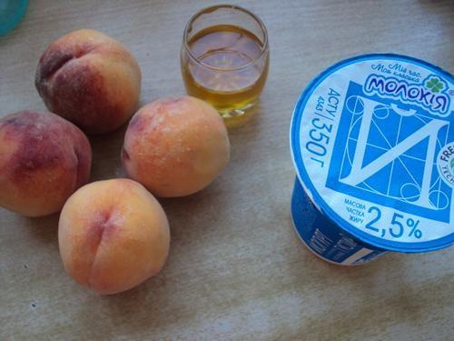 как сделать мороженое в домашних условиях с персиками