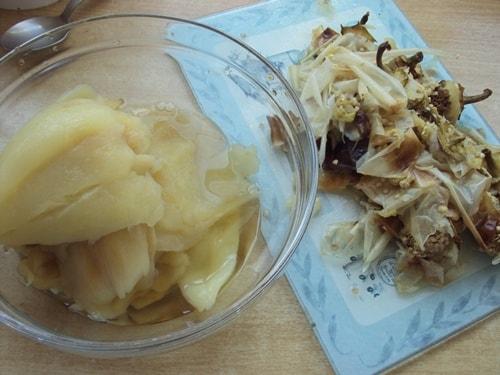 готовый болгарский перец после снятия кожицы