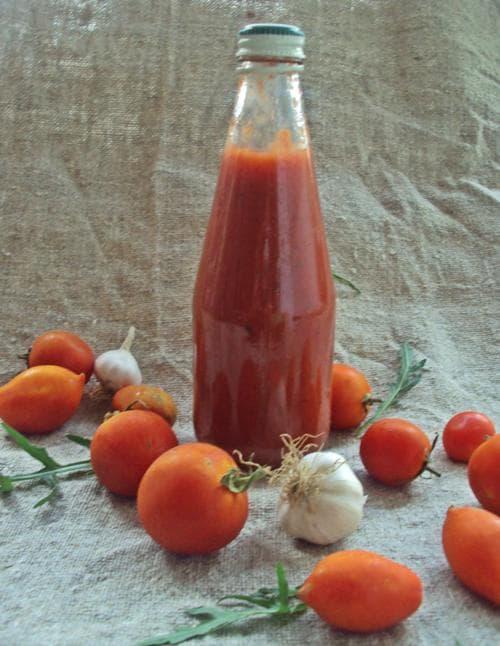 кетчуп домашний - рецепт на зиму из помидор