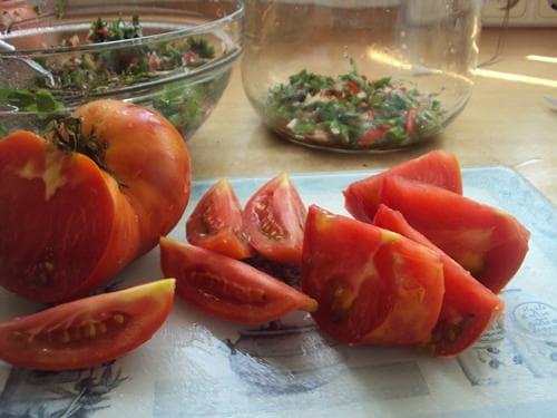 засолка пикантных помидоров