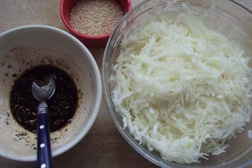 салат из кольраби - рецепт приготовления