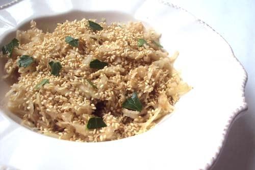 салат из капусты кольраби - рецепт с фото