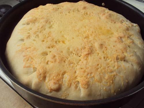 вкусный и быстрый пирог с фаршем