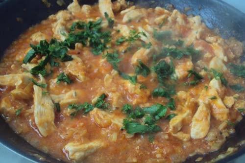 мексиканская кесадилья с курицей