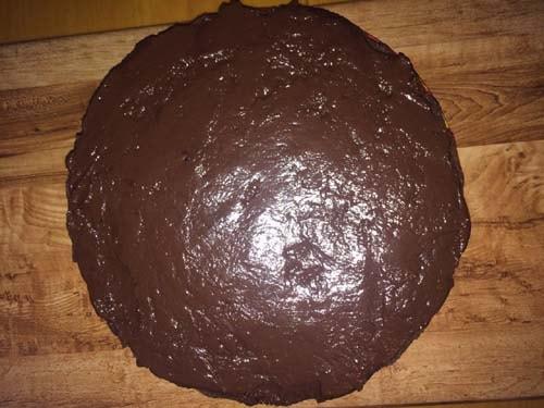 торт в креме
