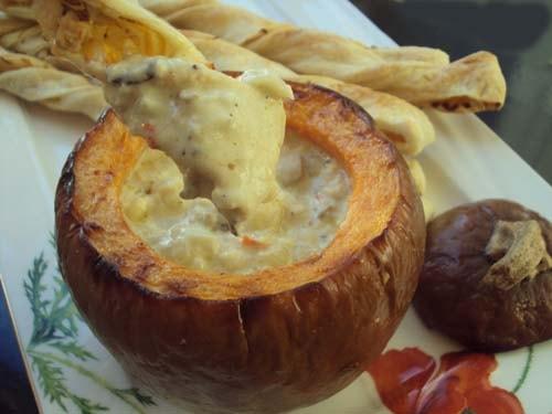 сырное фондю - рецепт с фото