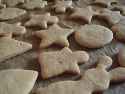 формочки для имбирного печенья новогодние