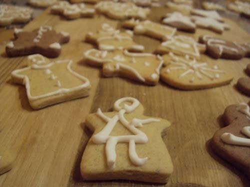 имбирное печенье в подарок на новый год