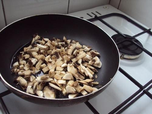 грибы для начинки в баллотин