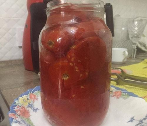консервация томатов в собственном соку